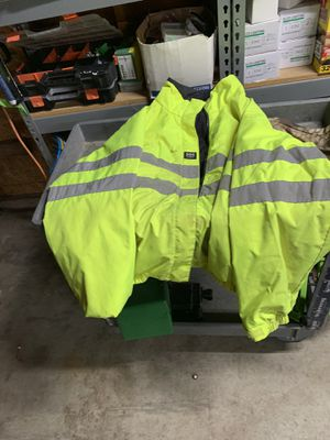 Helly Hanson hi vis, reversible jacket XL for Sale in Fife, WA