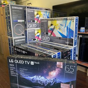 QLED OLED TV SALE SMART 4K BRAND NEW C9 Cx Q80T GAMING TV HDMI 2.1 for Sale in Burbank, CA