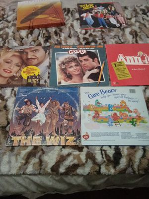 Lp s Collectors Records Grease Annie Care bears for Sale in Salt Lake City, UT