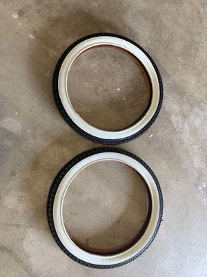 20 in bike tires for Sale in Dinuba, CA