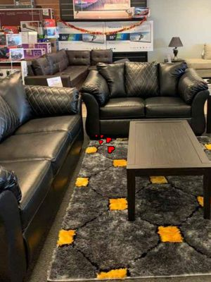 ♻️New Ashley♻️ Black Sofa &Loveseat for Sale in Jessup, MD