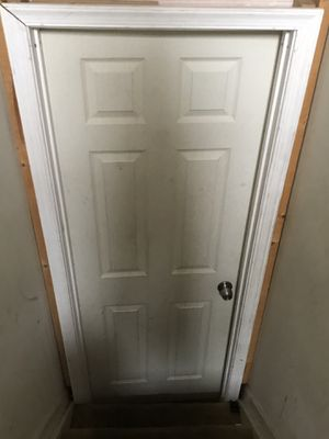 Standard size door 7x3 with side fitting for Sale in Potomac Falls, VA