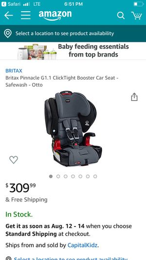 Car seat booster for Sale in VLG WELLINGTN, FL
