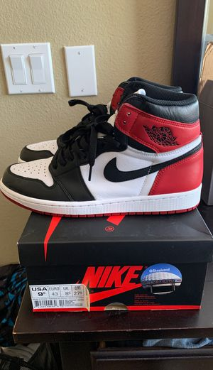 Jordan 1 Black Toe sz 9.5 for Sale in San Ramon, CA