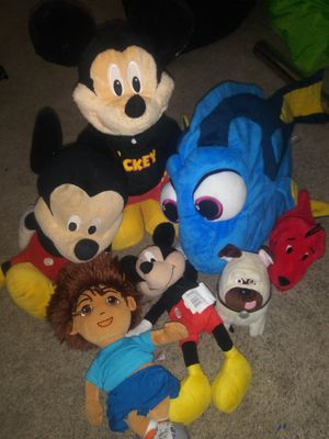 Stuffed animals for $5- $10 for Sale in Burtonsville, MD