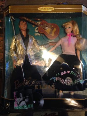 Barbie and Elvis collector edition gift set 1996 for Sale in Richmond, TX