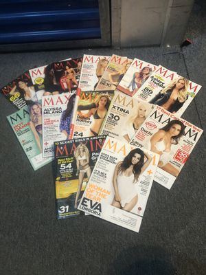 14 Maxim Magazines from 10/2012 thru 2/2014 for Sale in Worcester, MA