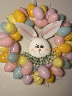 HANDMADE EASTER EGG WREATH for Sale in Los Angeles,  CA