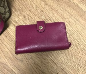 Coach Wristlet/Phone Carrier for Sale in Fresno, CA
