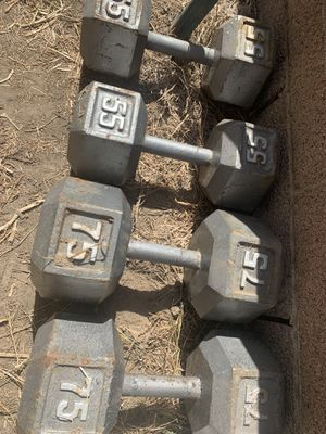 Dumbbell Set $1.50 a LB for Sale in Montebello, CA