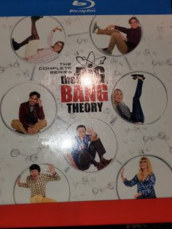 """Brand New Factory Sealed The Complete Series """"the BiG BANG TBEORY"""" (BLU RAY) for Sale in Ontario,  CA"""