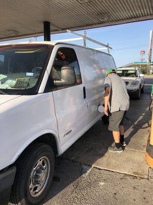 Great 2500 Chevy express work van runs good cold ac for Sale in San Antonio, TX