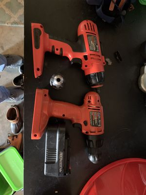 Black and Decker chordless drills for Sale in Horseheads, NY