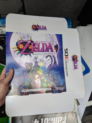 Pokemon and Zelda Oversized Display boxes - Nintendo 3DS for Sale in Cleveland, OH