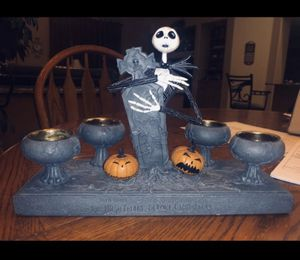 Collectors item limited edition Nightmare Before Christmas votive candle holder for Sale in Chandler, AZ