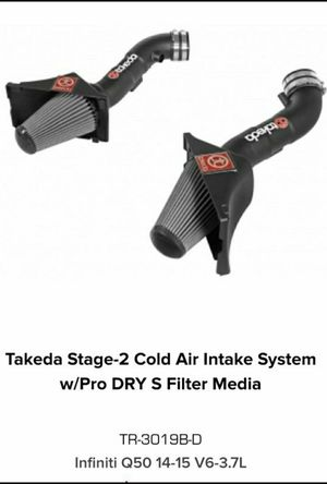 AFE TAKEDA TR-3019B-D COLD AIR INTAKE Q50 for Sale in Chino Hills, CA