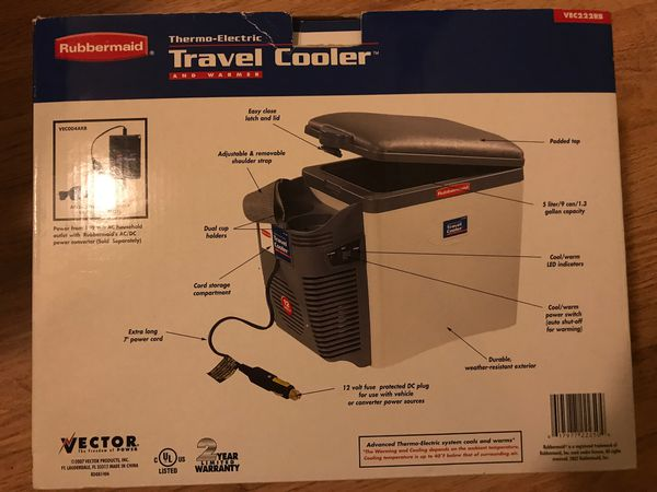 Thermal-Electric Travel Cooler and Warmer