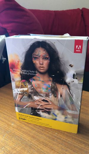Adobe Creative Suite 6 + Book for Sale in Scottsdale, AZ
