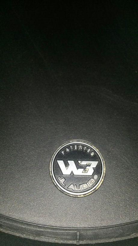 10 inch JL Audio W3 subwoofer