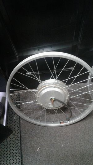 Samson electric motorized bicycle tire rims for Sale in Edmonds, WA