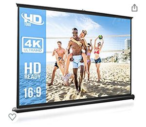 """50"""" Portable Projection Screen for Sale in Los Angeles, CA"""