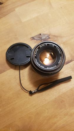 Vintage 1:18 50mm Olympus lens for Sale in Portland,  OR