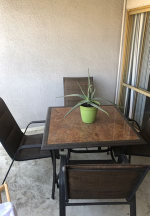 Great dinning patio furniture for Sale in Alhambra, CA