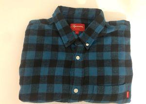Supreme Blue Flannel for Sale in Cedar, MI