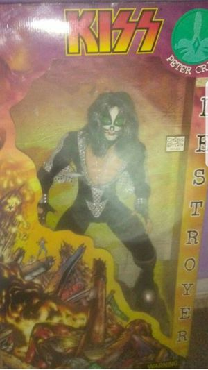 "Limited edition 24"" kiss doll (peter criss) for Sale in Winters, TX"