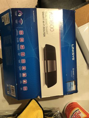 Linksys AC1600 router for Sale in Warrenville, IL