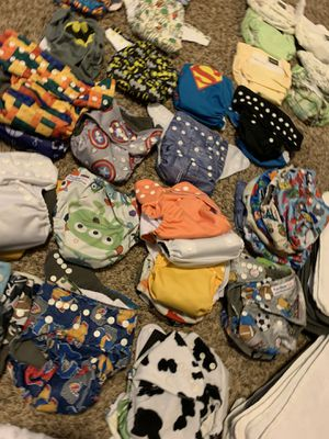 Cloth Diapers (40+) for Sale in Inman, SC