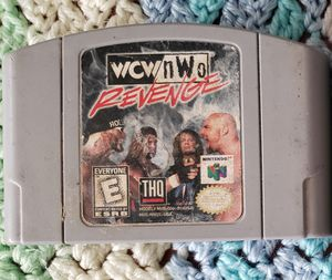 Wcw nwo revenge Nintendo n64 game for Sale in Marysville, WA