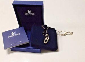 SWAROVSKI Gold Pave Crystals Pendant Necklace New in Box for Sale in Arlington, VA