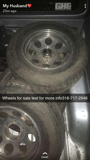 4 Wheels for Sale in Plaucheville, LA