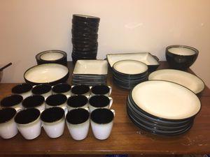 Stoneware dinnerware set for Sale in Vienna, VA