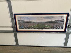 "Professionally Framed Virginia Cavaliers Scott Stadium print 41""x16"" for Sale in Crozet, VA"