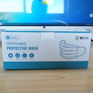 50 Pack 3-PLY Disposable Face Mask Bio Defense for Sale in Walnut, CA