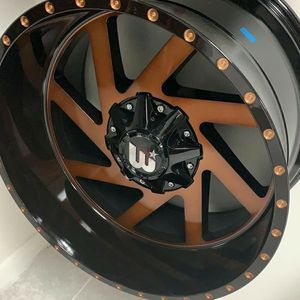 "Brand New 20"" WCTS 20X12 5X127 / 5X114.3 Black Bronze JEEP Wheels for Sale in Miami, FL"