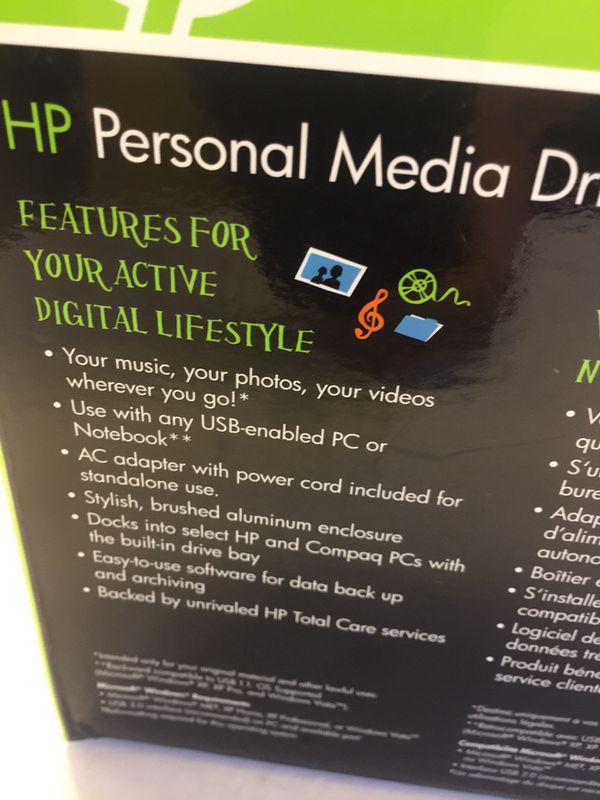 HP Personal Media Drive 300 GB