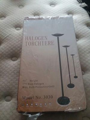 Halogen floor lamp for Sale in Greer, SC