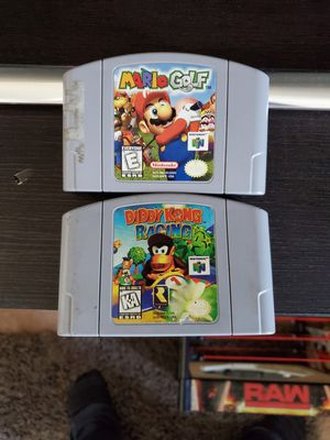 Nintendo 64 games for Sale in Round Lake Heights, IL