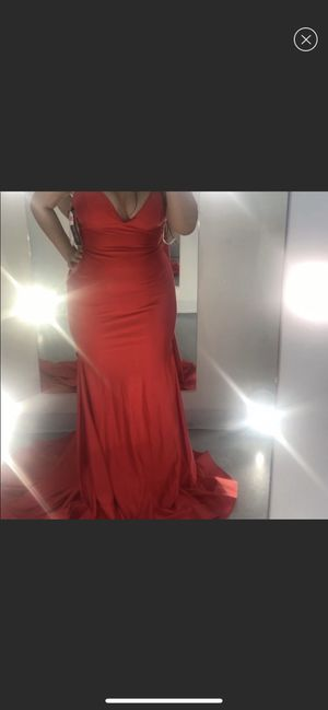 red sherri hill prom dress for Sale in Revere, MA