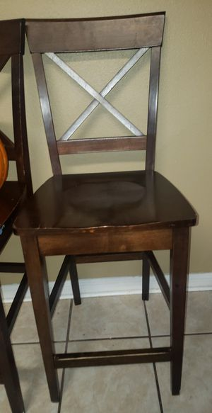 A set of 4 bar stools for Sale in Houston, TX