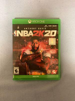 NBA 2K20 Xbox One for Sale in Salem, WV