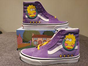 "Vans x simpsons ""Lisa 4 prez"" size 6 for Sale in Los Angeles, CA"