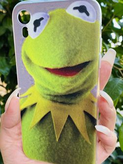 Brand new cool iphone XR case cover silicone Rubber Kermit The Frog Cartoon Girls guys womens mens for Sale in San Bernardino,  CA