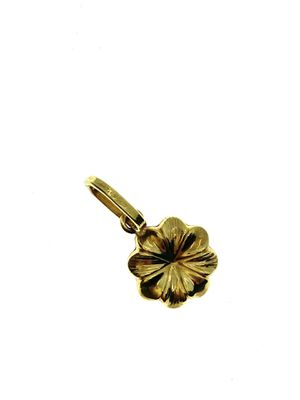 18t gold flower charm pendant solid for Sale in Los Angeles, CA