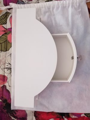 New white bathroom shelf with drawer for Sale in Sterling, VA