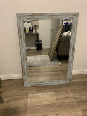Weathered Distressed Finish Mirror for Sale in Fullerton, CA