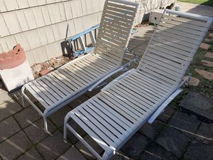 Lounge Sun Pool Chairs Chair Both for for Sale in Carmichael, CA